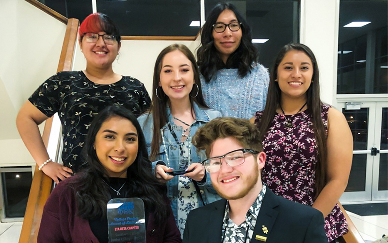 Phi Theta Kappa chapter earns multiple honors at regional convention